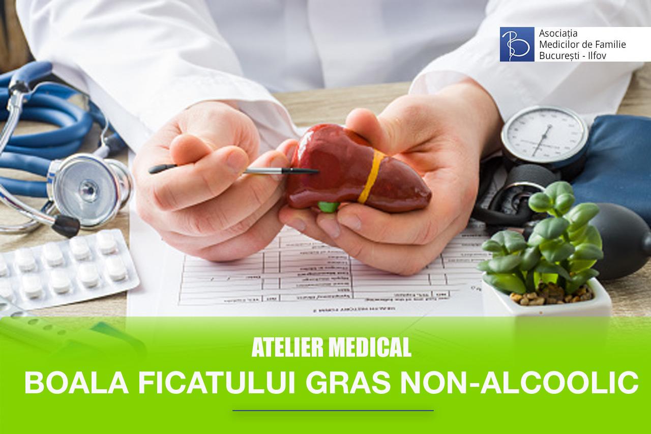 Abordarea Bolii Ficatului Gras Non Alcoolic în echipă – medicul de familie și gastroenterologul