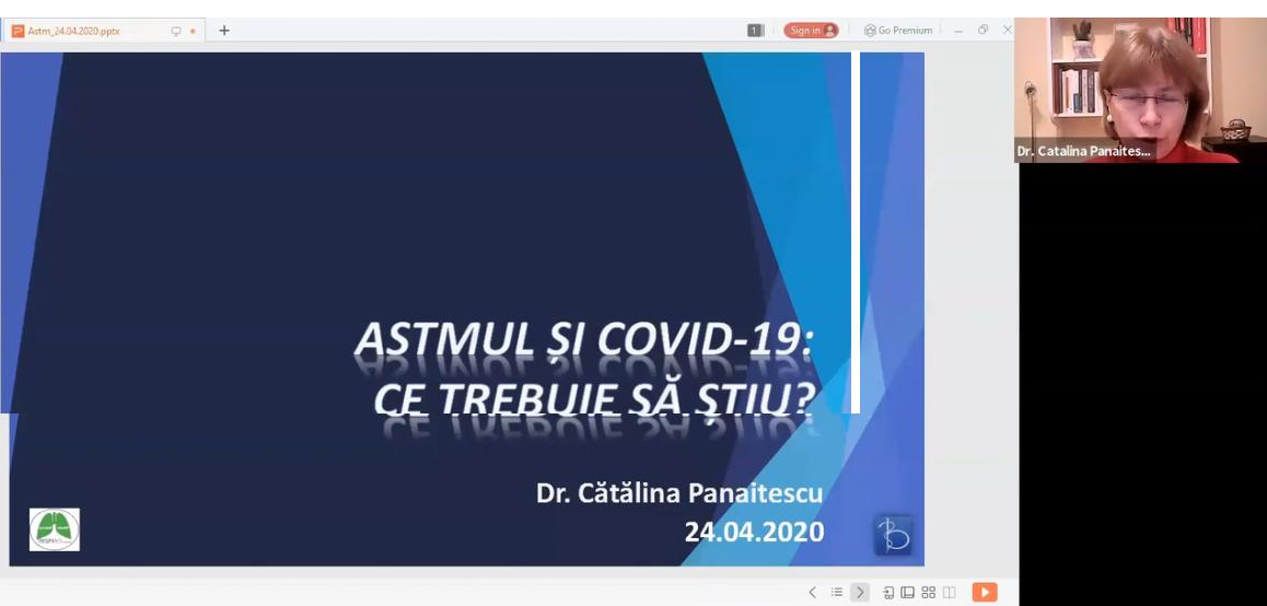 Astmul si COVID – 19 – ce trebuie să știm