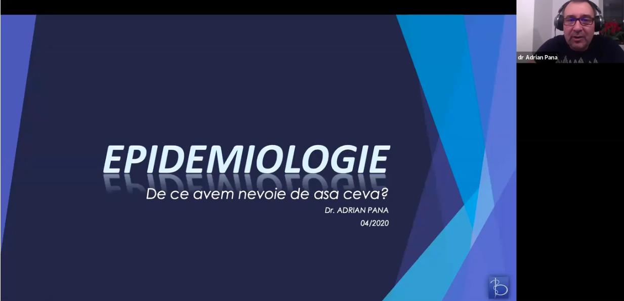 Lecția de epidemiologie