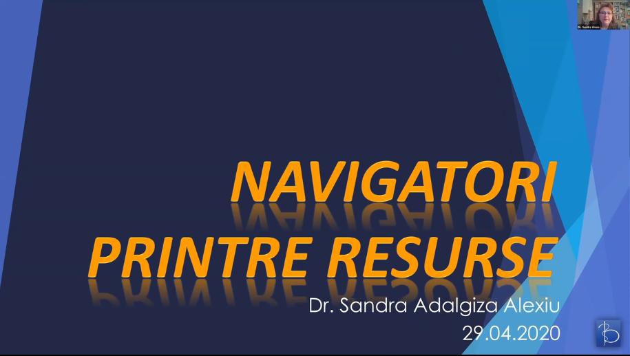Navigatori printre resurse