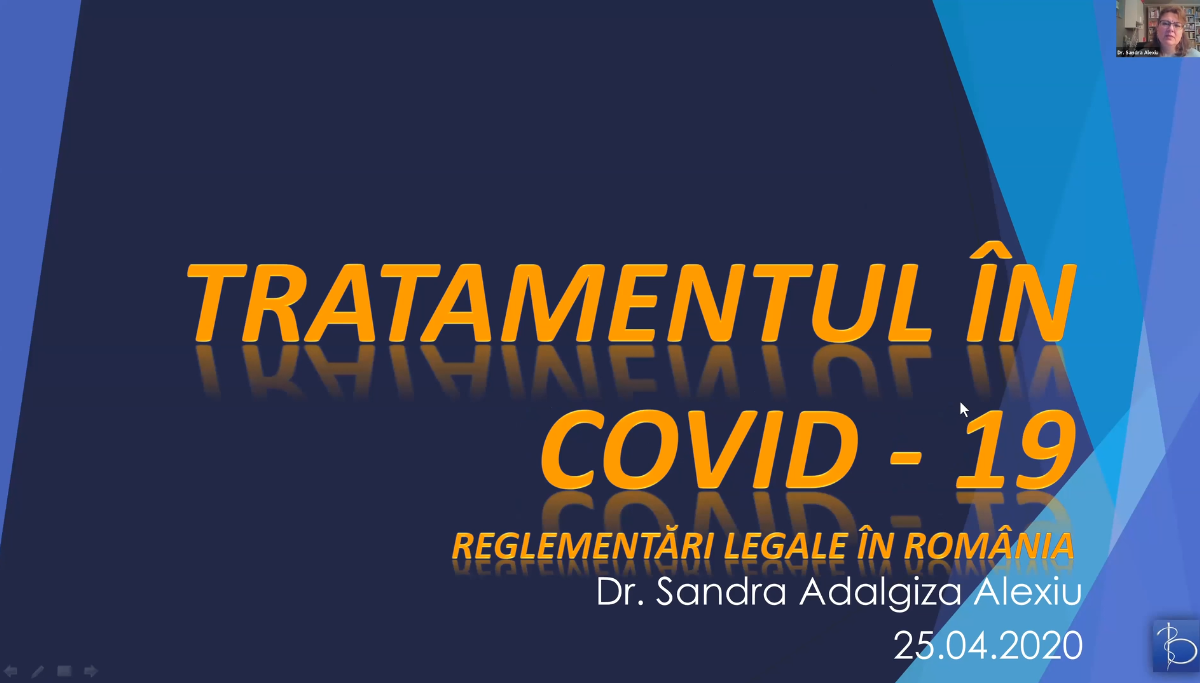 Tratamentul in COVID-19