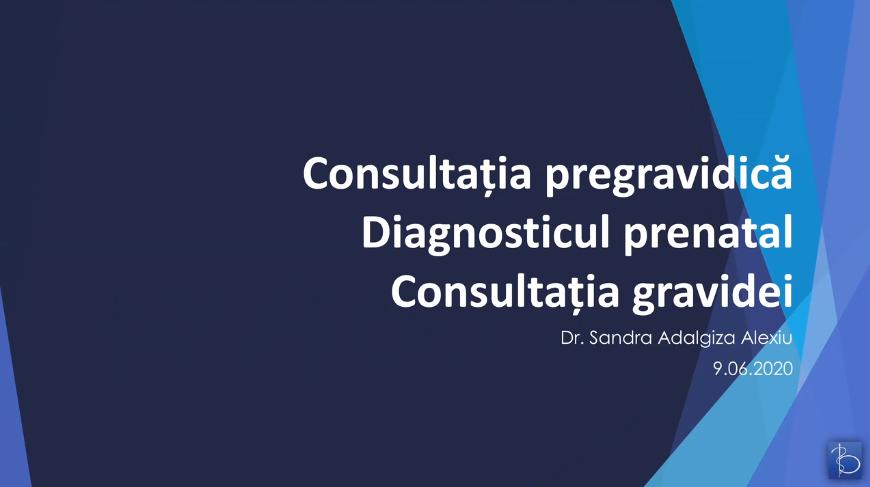 Consultatia gravidei