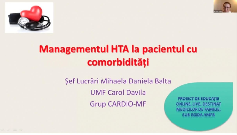 Managementul HTA la pacientul cu comorbididati