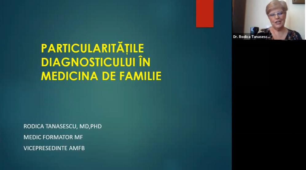 Particularitatile diagnosticului in Medicina de Familie