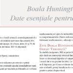 Boala Huntington