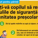 Invatati-va copilul sa respecte regulile de siguranta din unitatea prescolara