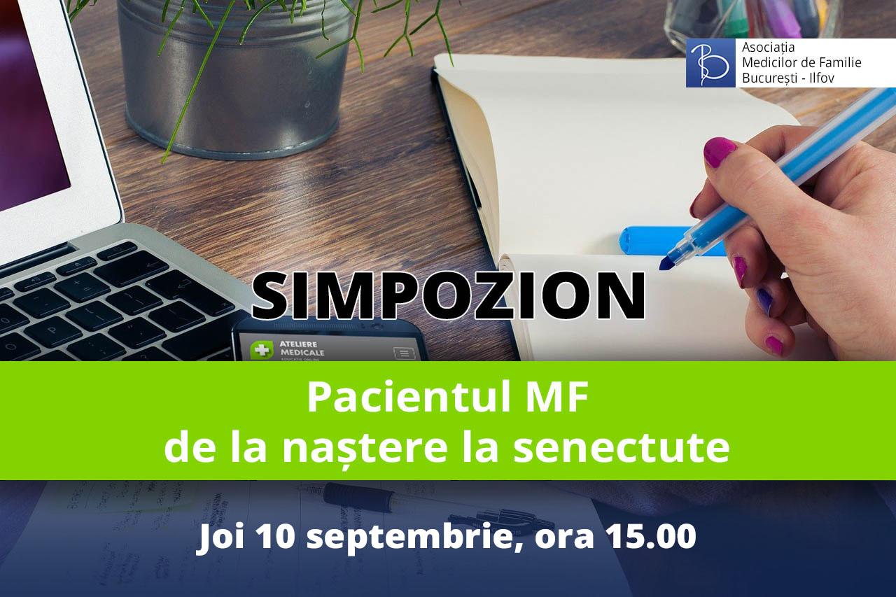 Pacientul MF – de la naștere la senectute (10 septembrie 2020)