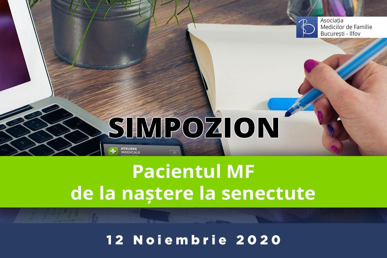 Pacientul MF – de la naștere la senectute (12 noiembrie 2020)