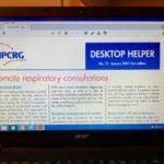 Consultația la distanță a pacienților cu boli respiratorii