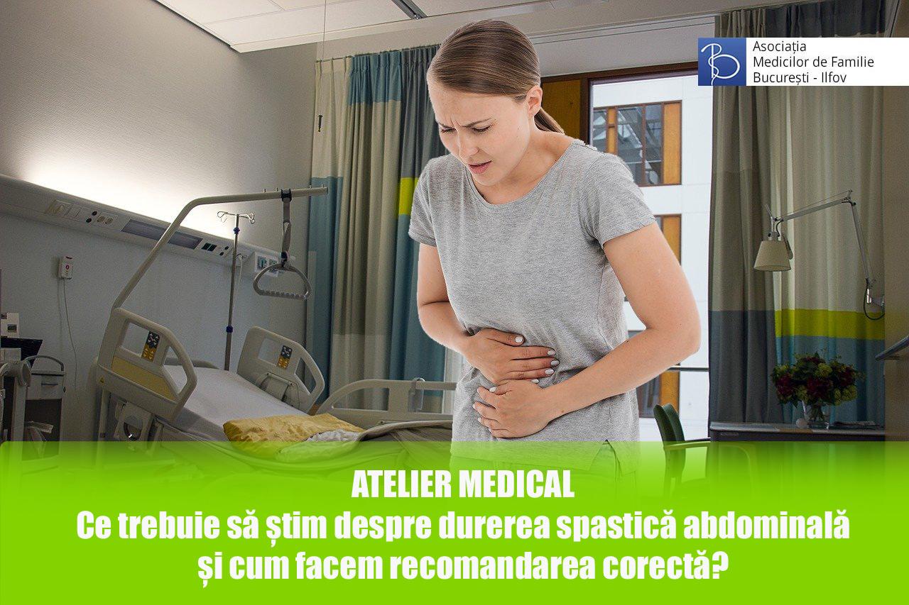 Ce trebuie să știm despre durerea spastică abdominală și cum facem recomandarea corectă?