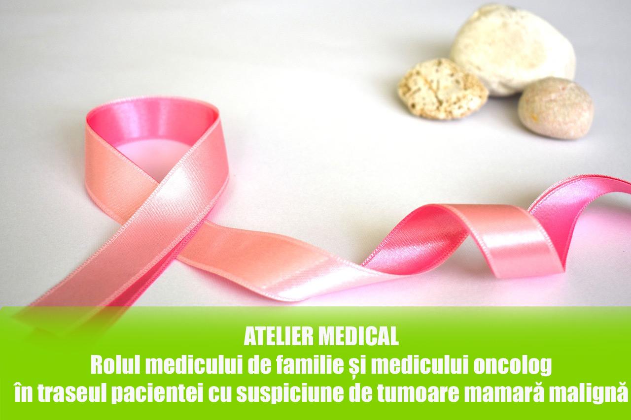 Rolul medicului de familie și medicului oncolog în traseul pacientei cu suspiciune de tumoare mamară malignă