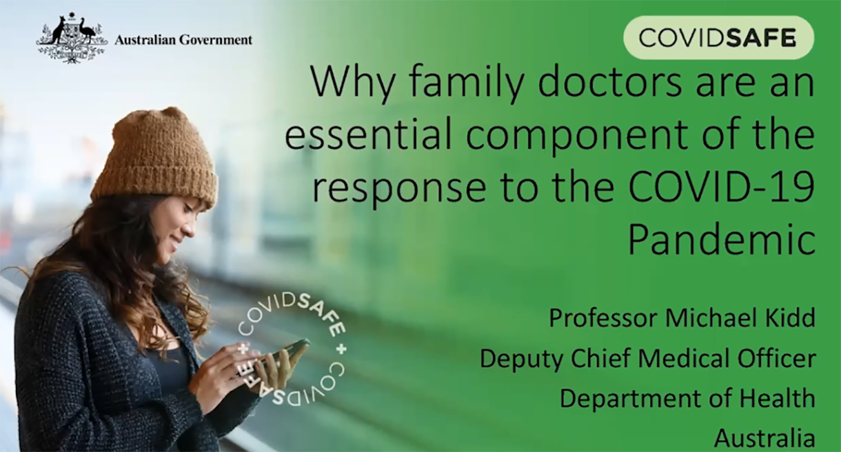 The importance of the family doctor during a pandemic
