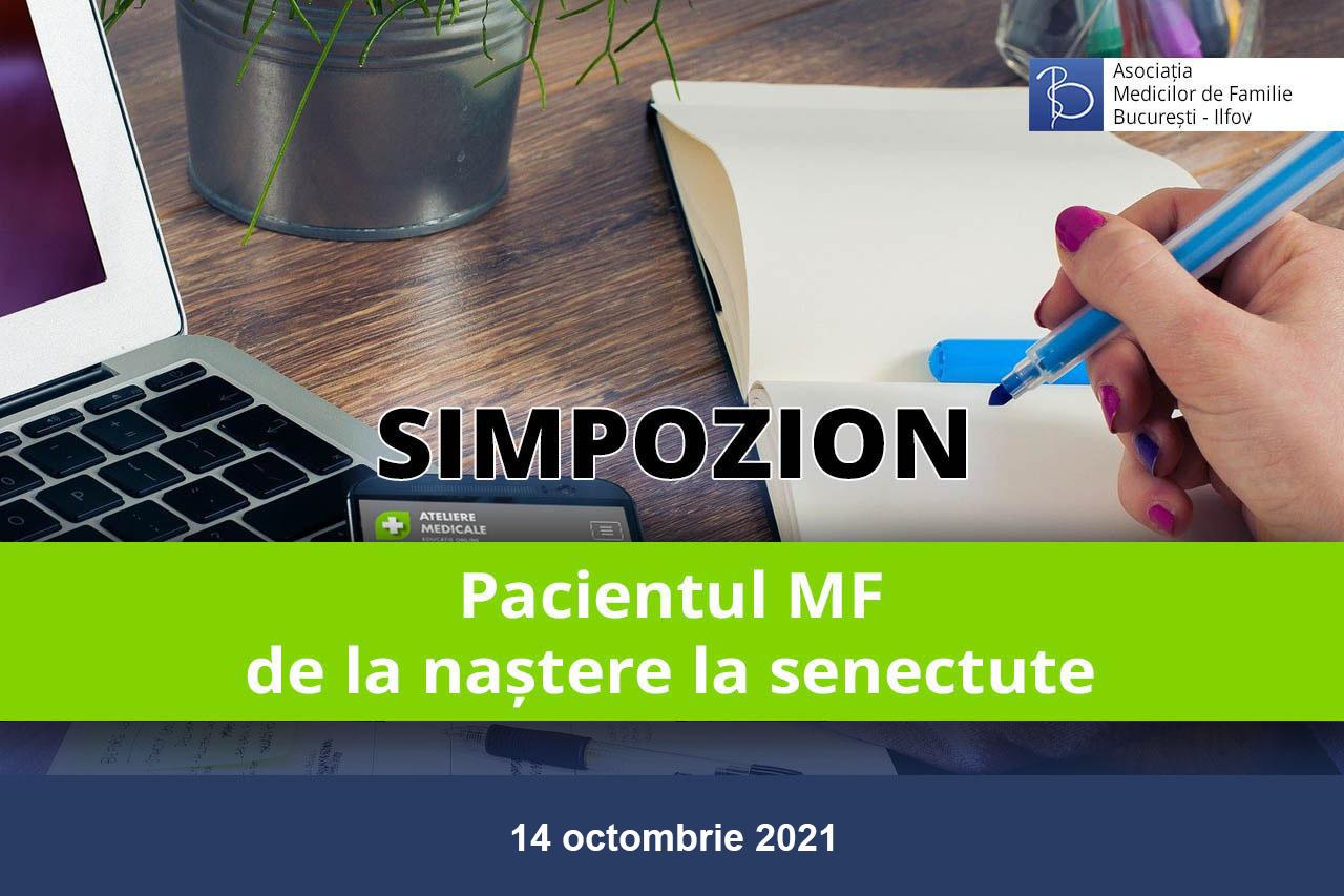 Pacientul MF – de la naștere la senectute (14 octombrie 2021)